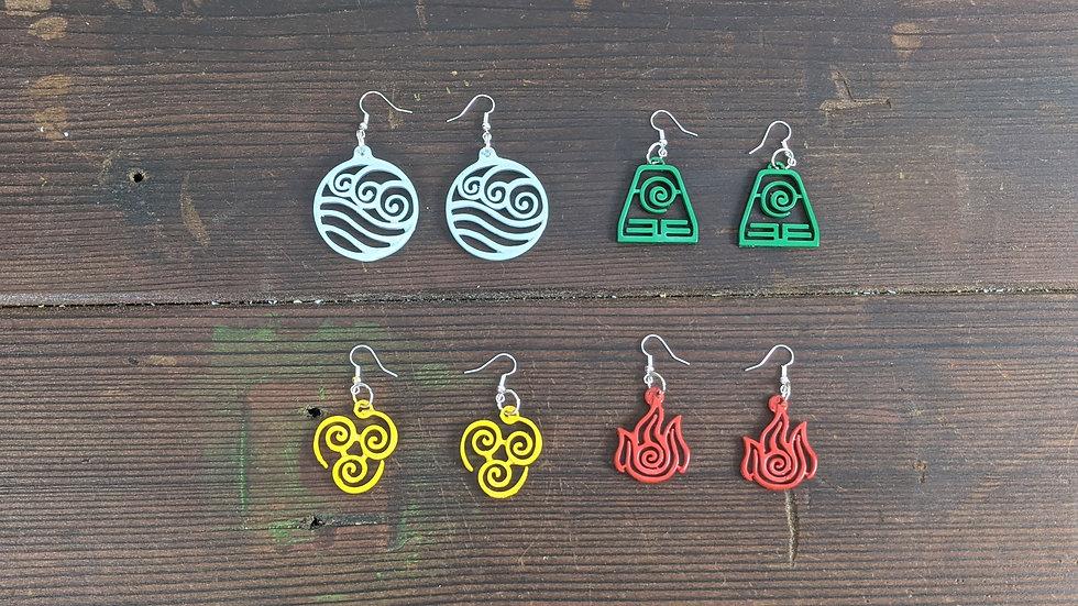 Avatar Nations Earrings