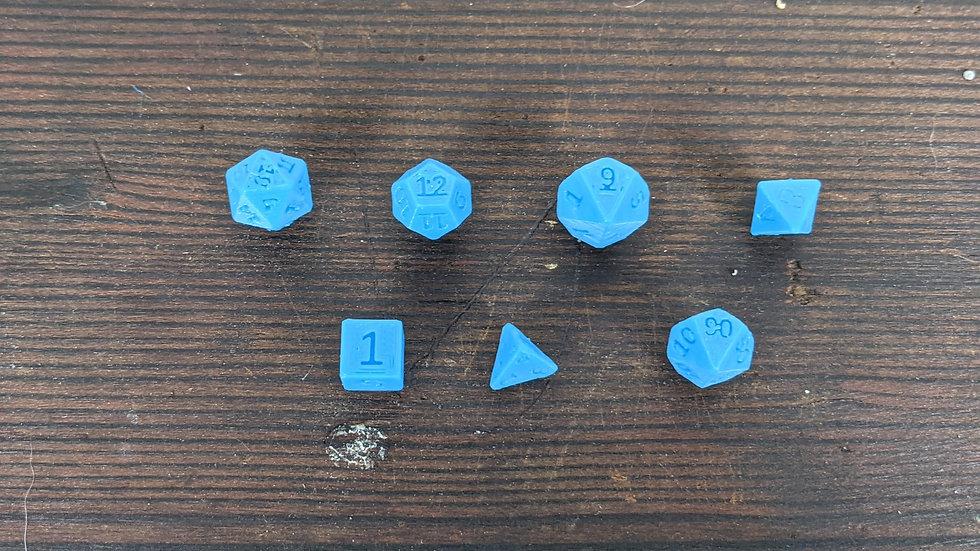Mini D&D Dice Magnets Set