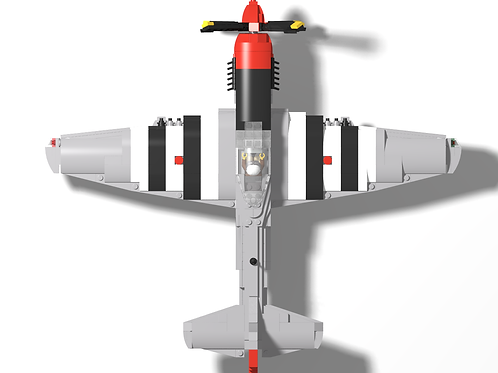 """P-51D Mustang - """"Red Nose"""""""