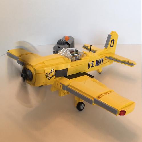 """KIT - USN F8F Bearcat Kit -""""Blue Angels - Beetle Bomb"""""""