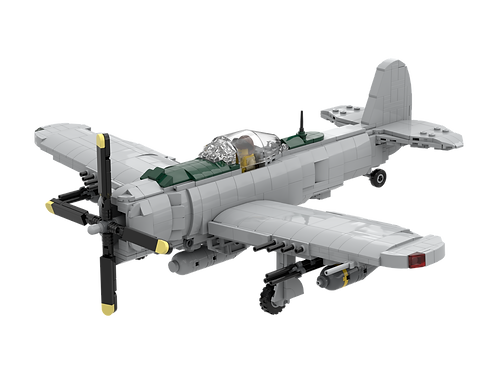 P-47 LBG, No Stripes