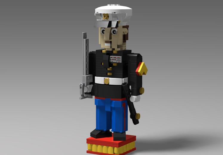 USMC Nutcracker