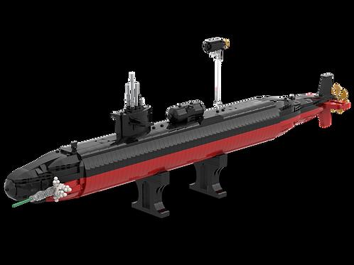 INSTRUCTIONS:  Micro Warships - LA Class 688 - USS Dallas