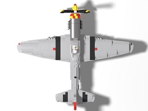 "P-51D Mustang - ""Glamorous Glen III"""