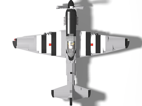 """P-51D Mustang - """"Quick Silver"""""""