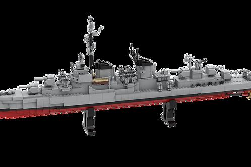 INSTRUCTIONS - Fletcher Class DD-661