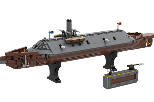 KIT - MWS Ironclad - CSS Virginia