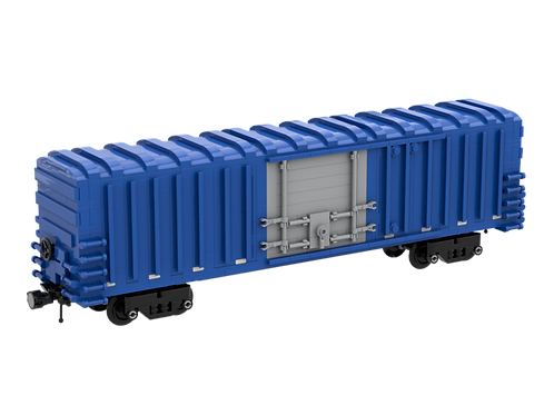 INSTRUCTIONS - 50' Box Car - Color Pack 2