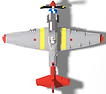 P-51D Mustang Tuskegee Red Tail