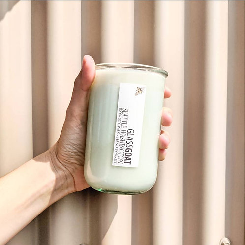 Garden Recycled Glass 12 oz Candle