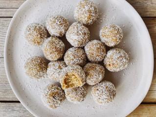Peanut Butter & Salted Caramel Protein Balls