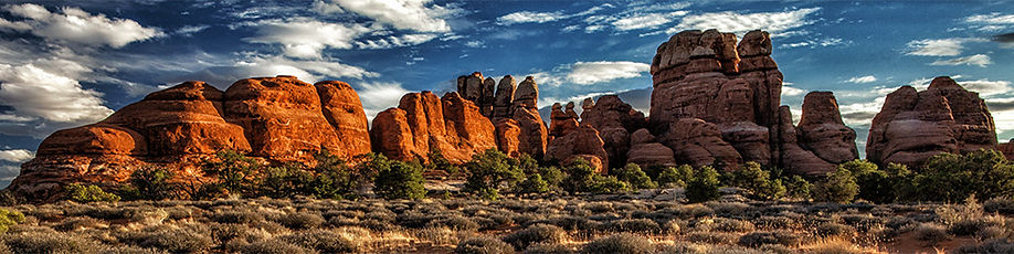 The Needles District in Canyonlands National Park, Utah