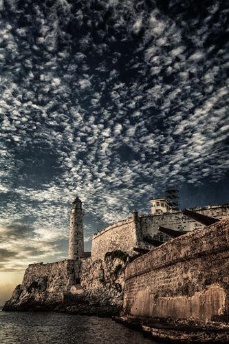 el Castle Morro along he mouth of the Straits de la Havana
