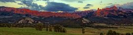 Owl Creek Pass Sunset