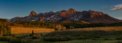 Warm Glow of Evening at The Dallas Divide