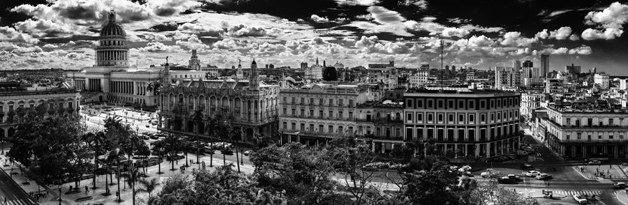 The Plaza from the rooftop of the Hotel Manzana, Havana, Cuba