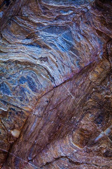 Abstract Art in Mosiac Canyon, Death Valley National Park, California