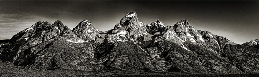 Th Grand Teton mountain range, Wyoming