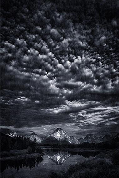 Mt Moran in the Grand Teton National Park, Wyoming