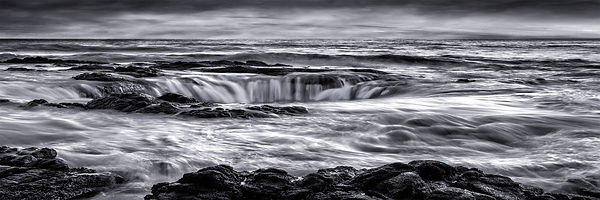 Thor's Well at Cape Perpetua in south-central Oregon