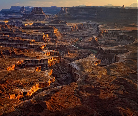 Green River Overlook in the Willow Springs campground, Canyonlands National PArk, Utah