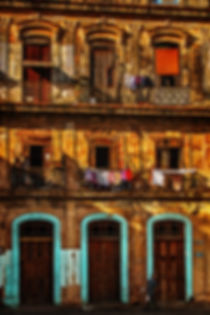 A building in central Havana, Cuba