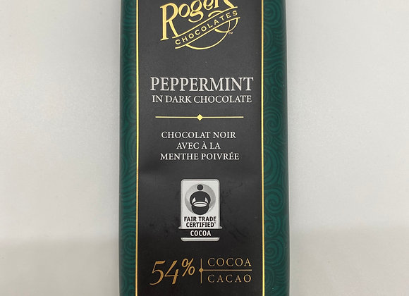 Roger's chocolate bar
