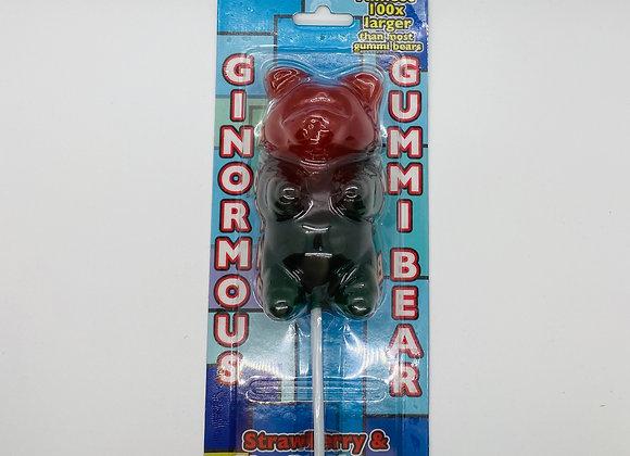 Ourson en bonbon géant