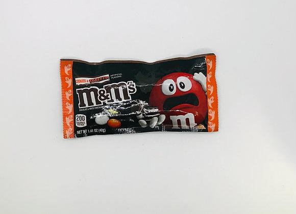 M & m's Halloween Cookies n Cream