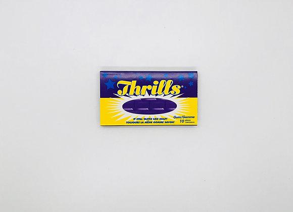 Soap flavor gum