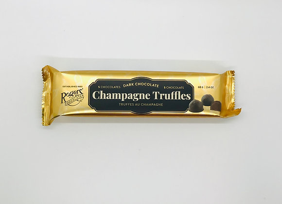 Truffes au champagne Rogers