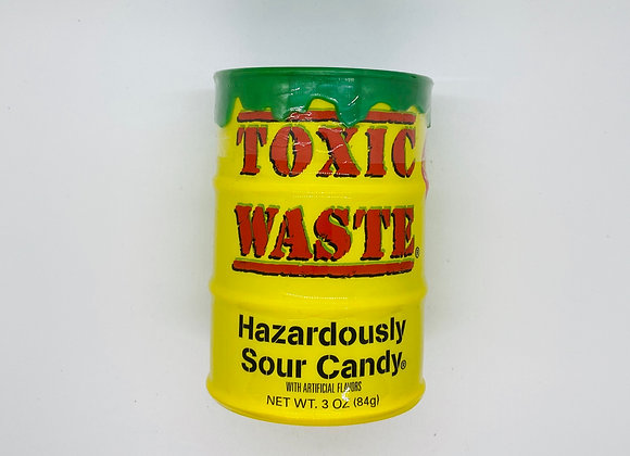 Tirelire bonbons toxic waste