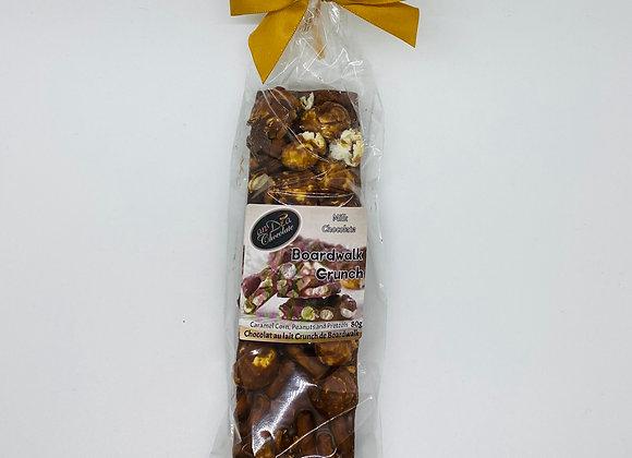 Boardwalk Crunch, caramel popcorn and pretzels