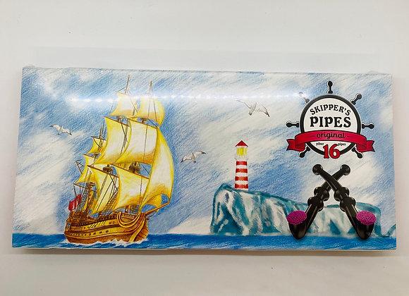 Liquorice box black pipes (16 pipes)