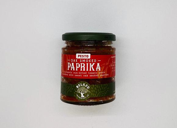 Pesto de paprika fumé au chêne