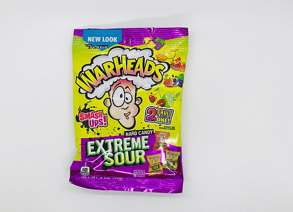Candy warheads extreme sour
