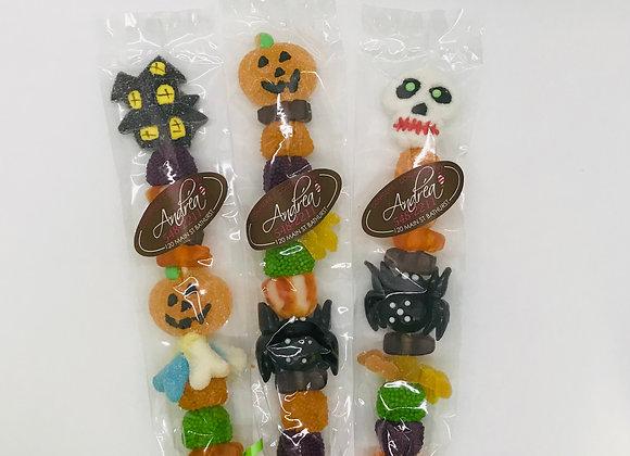 Halloween candy sticks