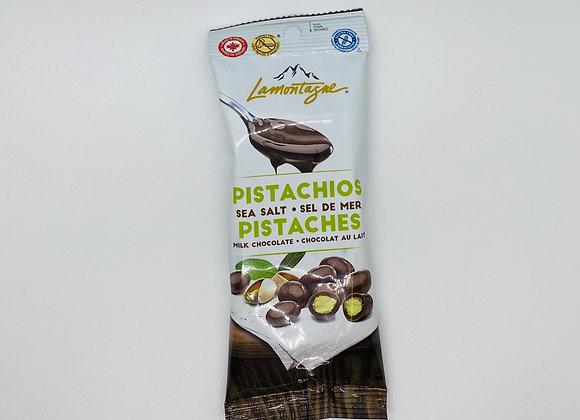 Noix enrobées de chocolat