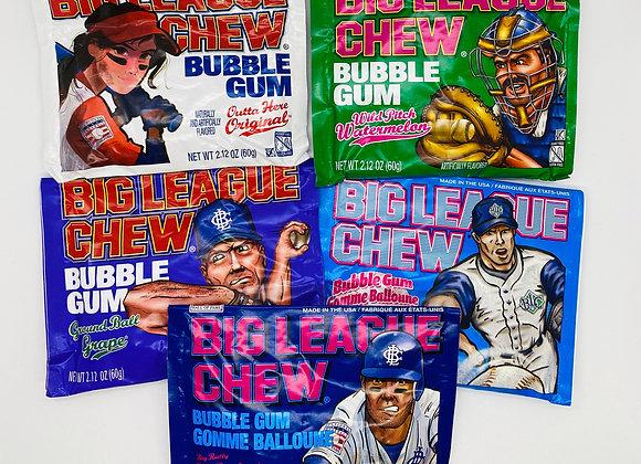 Big League chew gum
