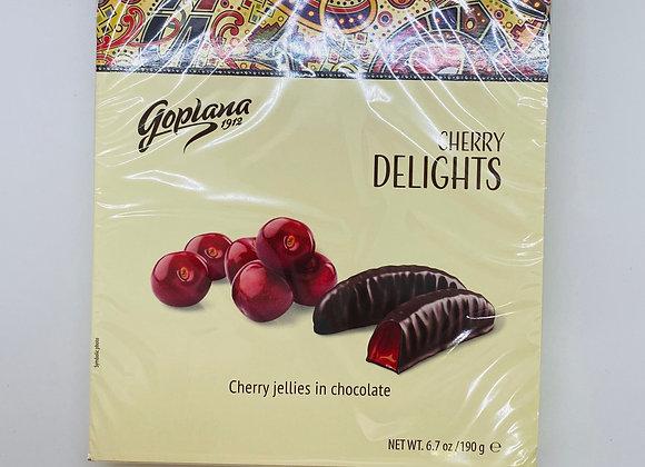Gelée de fruit enrobées de chocolat noir