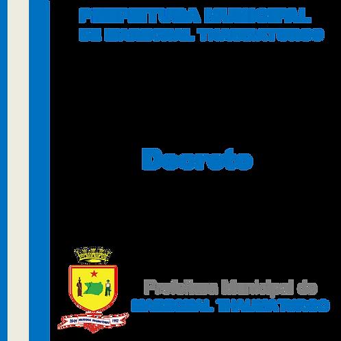 Decreto N°111/2021 - NOMEAR a Srª. MARCOS ANTONIO OLIVEIRA DE ALMEIDA