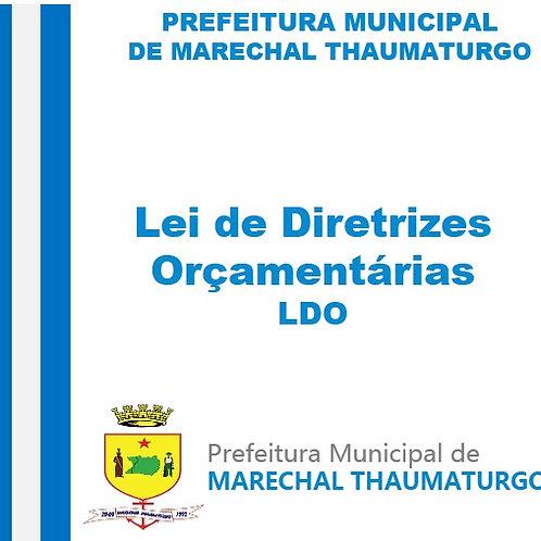 LDO 2013 (Lei nº 59 de 15/05/2012)