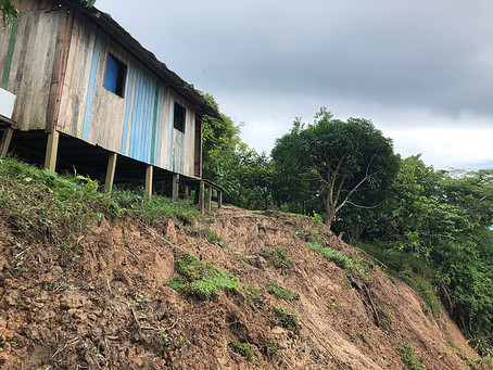 Marechal Thaumaturgo em Estado Emergência Após Chuvas e Risco de Desmoronamento