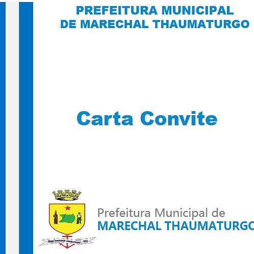 CC Nº 01/2017 (Contratação de profissional para Prestação de serviços)