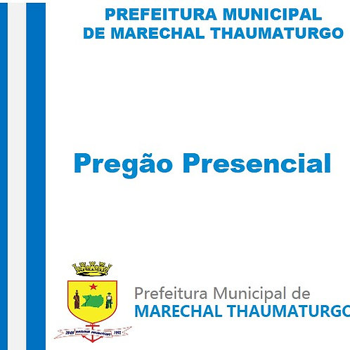 PP SRP Nº 006/2020 - Escavadeira hidráulica sobre Esteira