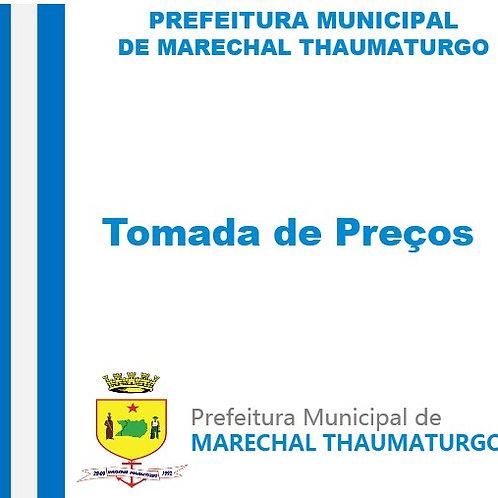 TP Nº 001/2021 - PAVIMENTAÇÃO DE RUAS