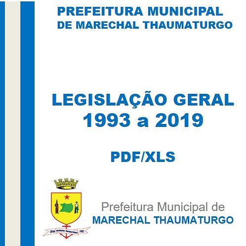 Legislação Geral (1993-2019)