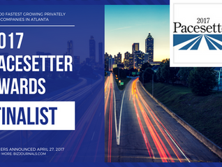 Prime Technical Services Named Finalist in the 2017 Pacesetter Awards - Atlanta's Fastest Growing Pr