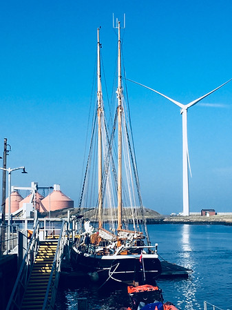 Williams II in the Port of Blyth