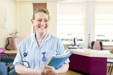 Nurse at heart Michelle Crawford returne